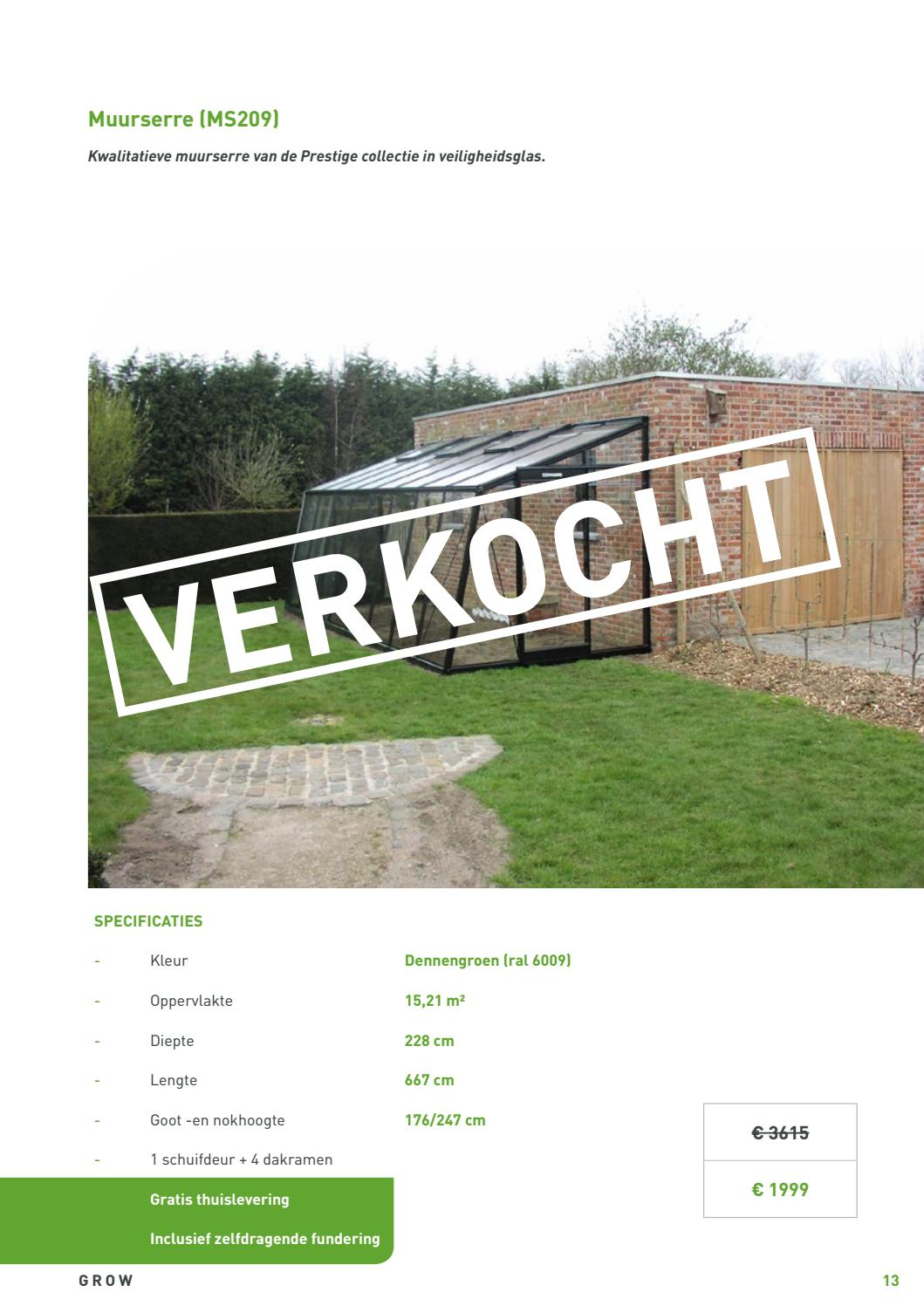 Ral 6009 Dennengroen 170515 Outlet By Acdnv Issuu