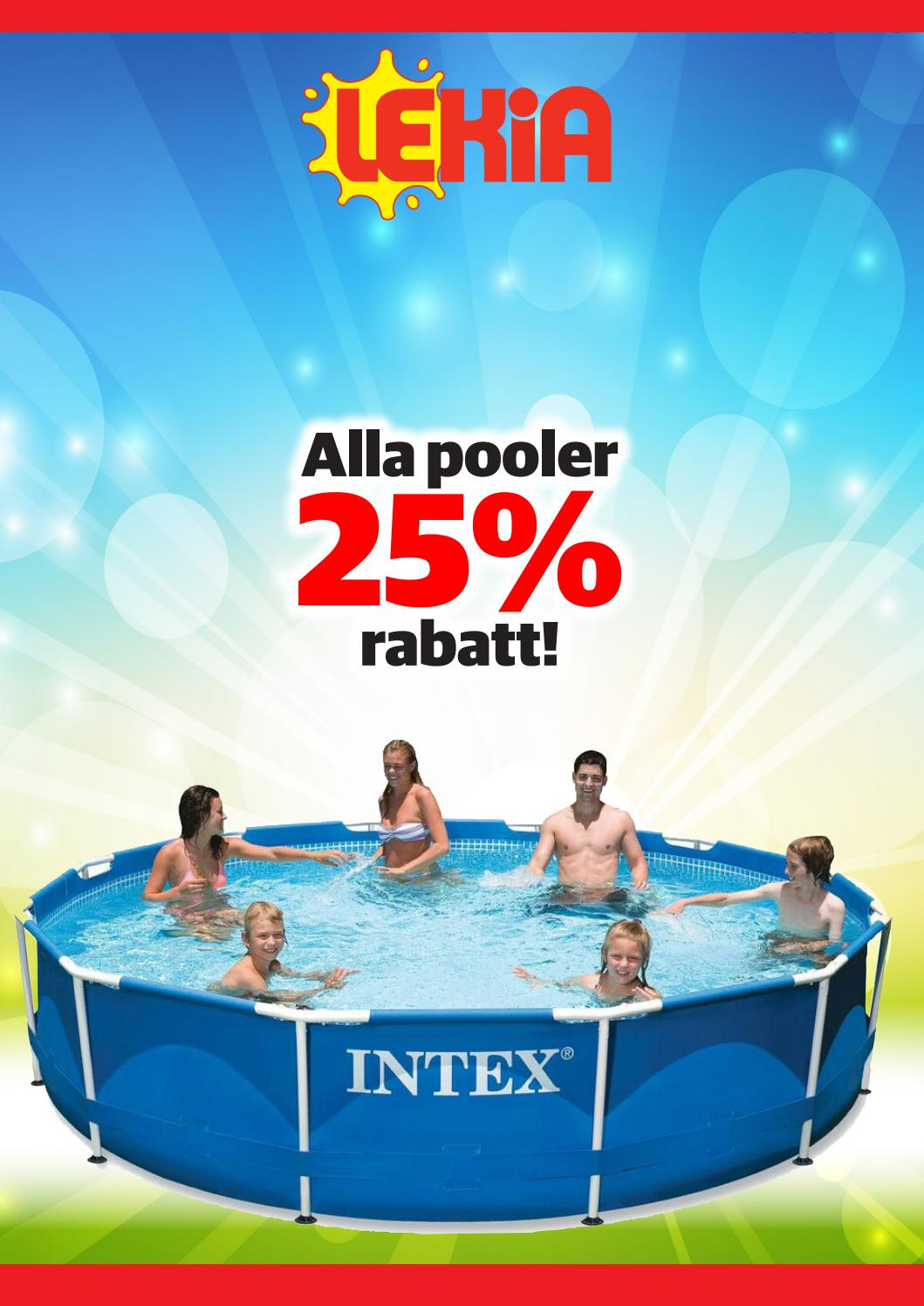 Intex Pool Sandfilterpumpe Volt 220-240 Pooler 2017 Gävle By Lekia Gävle Issuu