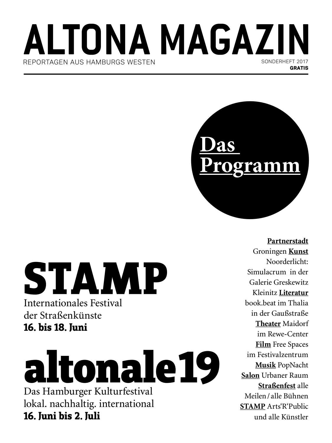 Altonale19 Stamp Programmheft By Altonale Issuu