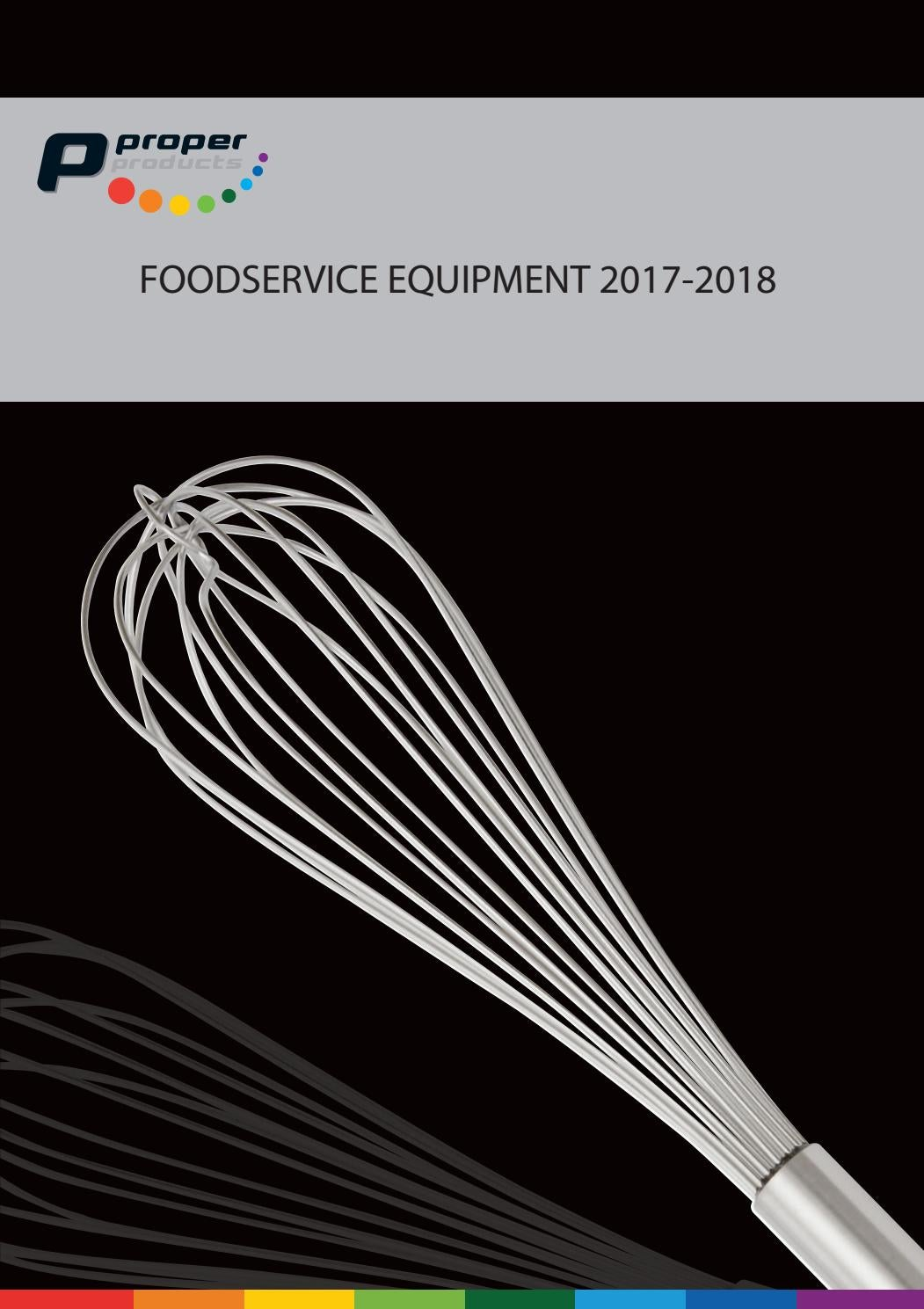 Maximale Lengte Gasslang Nl Proper Foodservice Equipment 2017 By Proper Products Issuu