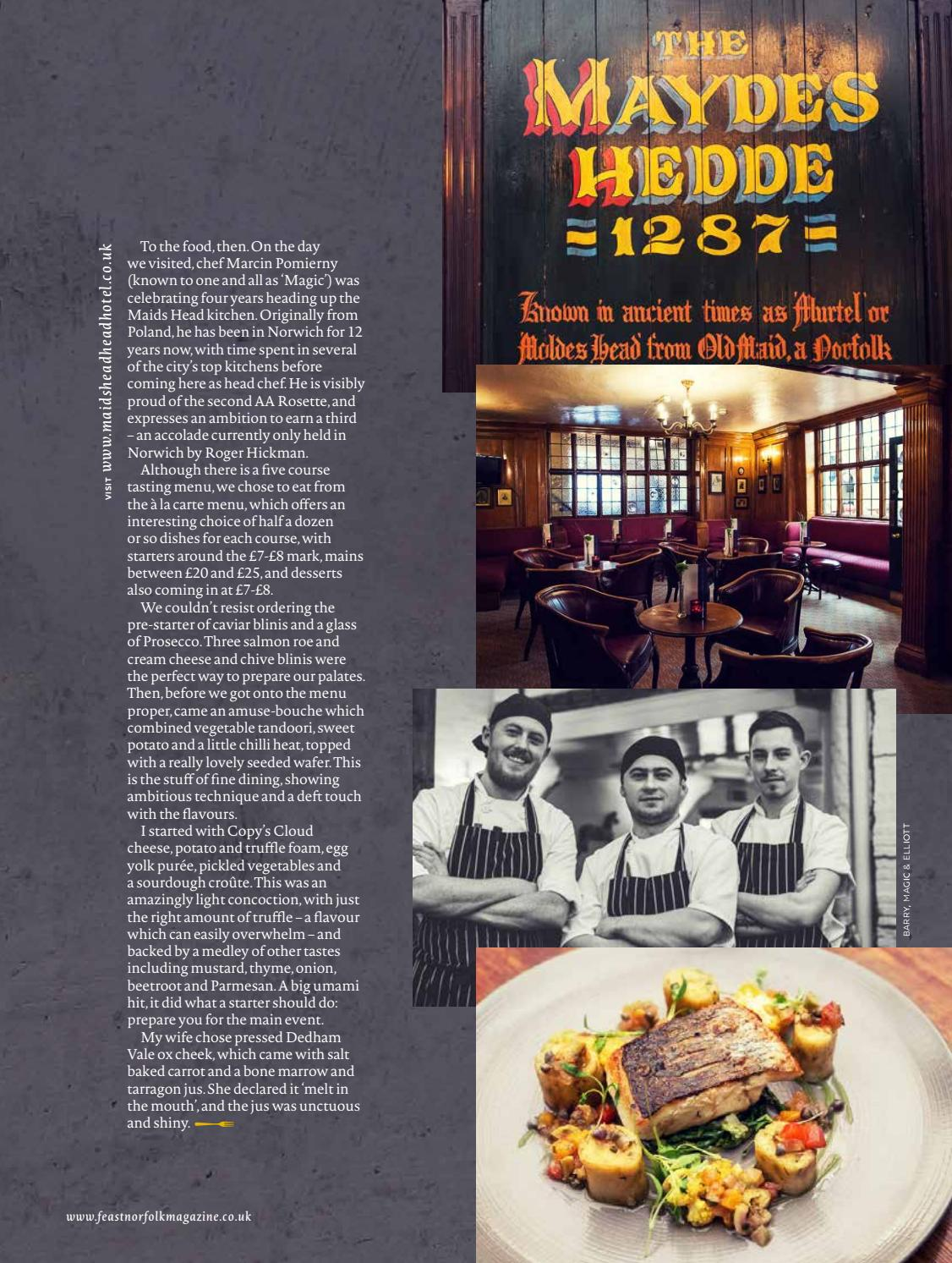 Chef Course Norwich Feast Norfolk Magazine June 17 Issue 17 By Feast Norfolk
