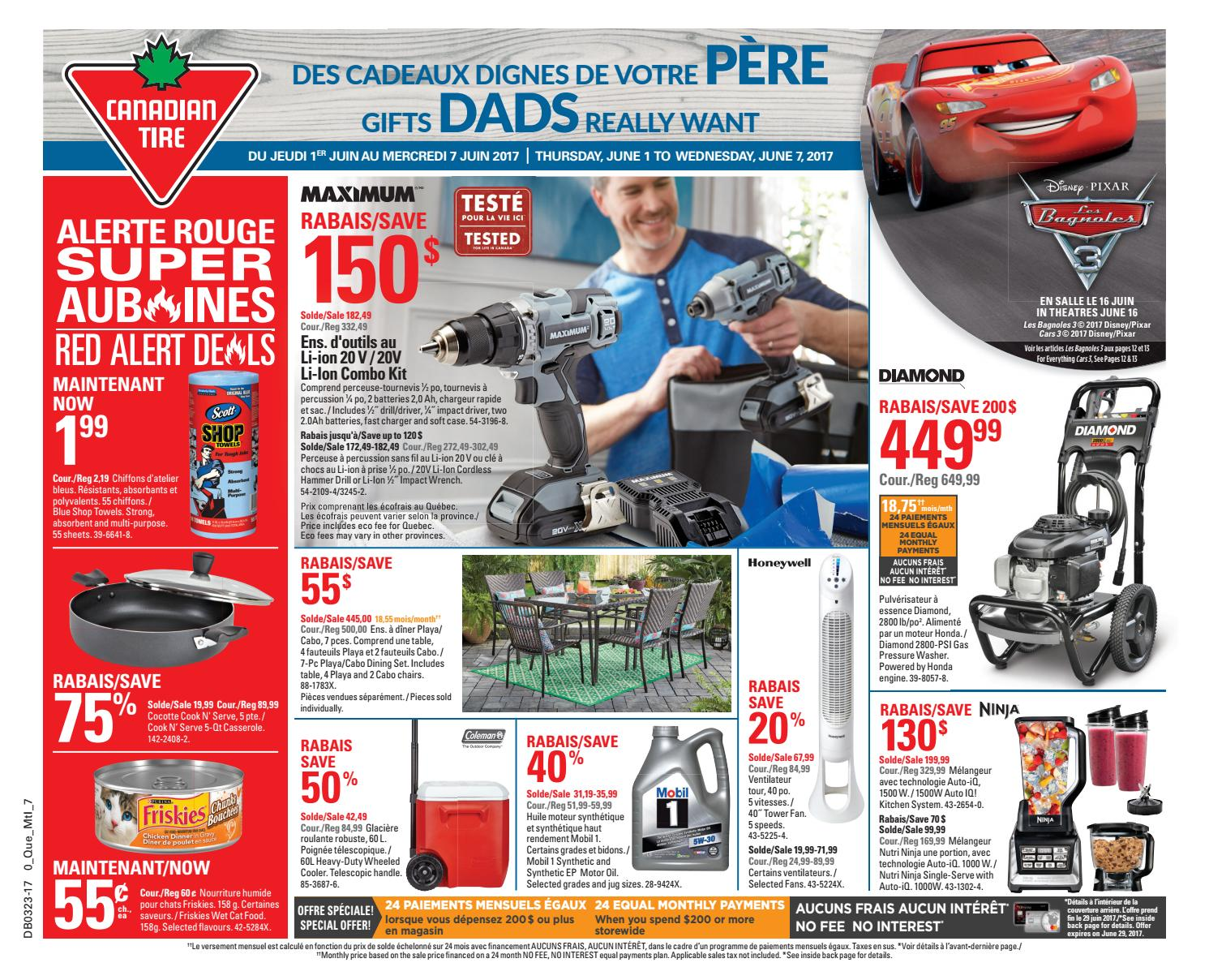 Pouf Exterieur Canadian Tire Publisac 2017 Flyer Ctc Wk23 Bil 7 By Salewhale Issuu