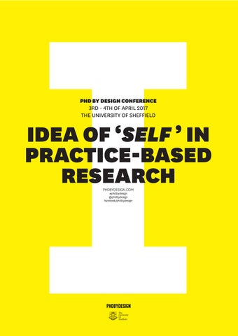 Phd By Design conference 2017 - programme by Phd By Design - issuu
