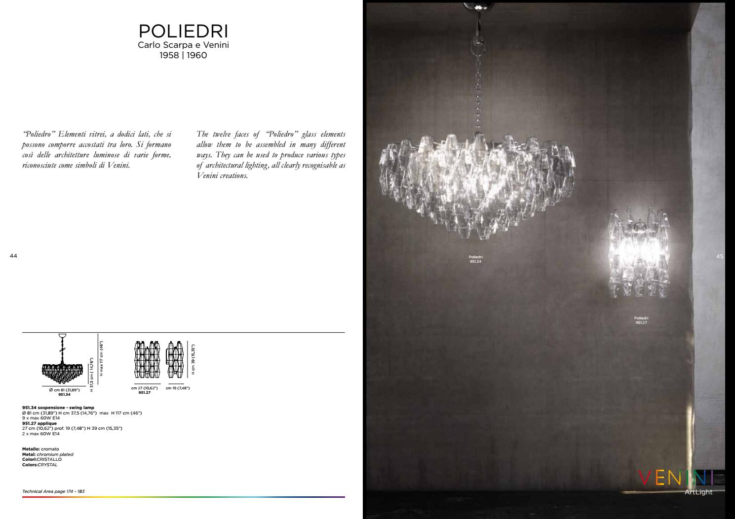 Formano Online Shop Venini Murano Glass Lighting By Passerini Issuu