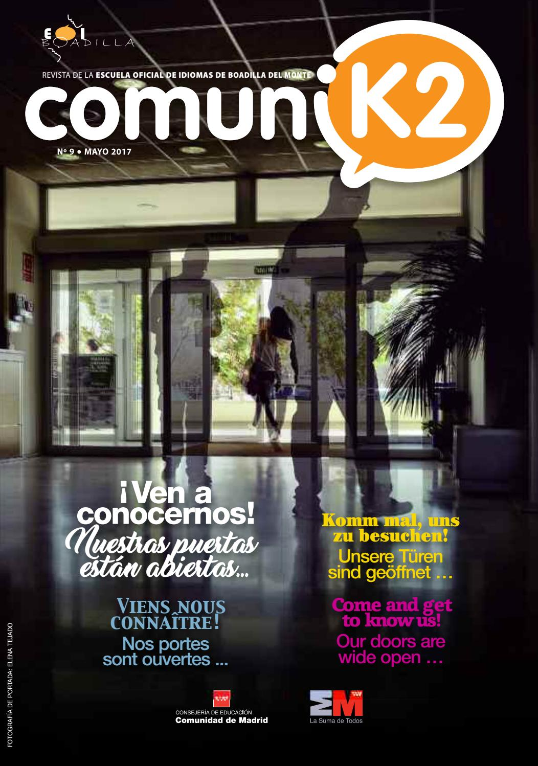 In Meiner Küche Wird Getanzt Poster Revista Comunik2 Nº 9 By Afp Gestion Del Color Sl Issuu