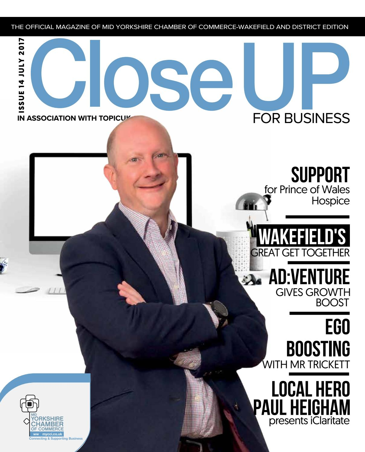 Tom Taylor Our Team Northorpe Hall Child And Family Trust Closeup For Business Wakefield Edition July17