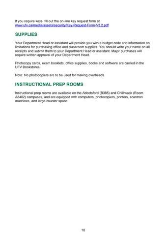 UFV Faculty Handbook by University of the Fraser Valley - issuu