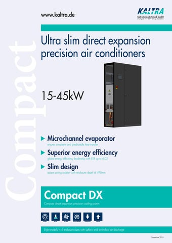 COMPACT - Precision air conditioners by Kaltra - issuu