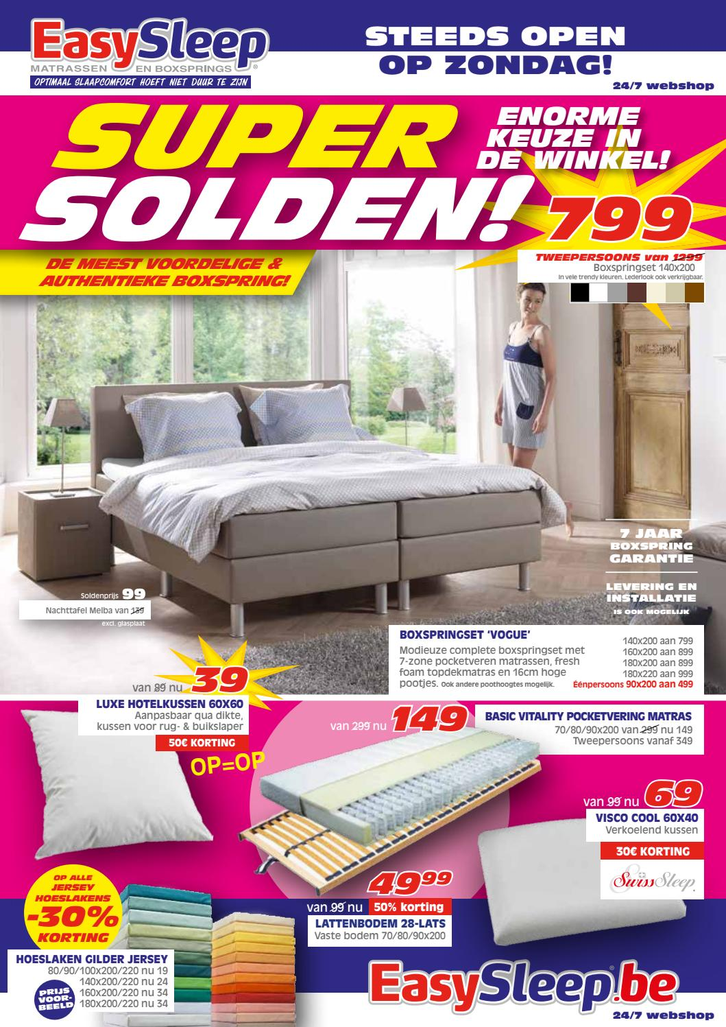 Tweepersoons Matras 160x200 Easy Sleep Nl 01 07 Tot 31 07 By Profacts Issuu