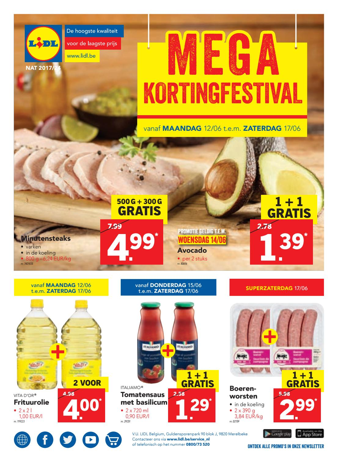 Lidl Italiaanse Week Lidl Nl 12 06 Tot 17 06 By Profacts Issuu