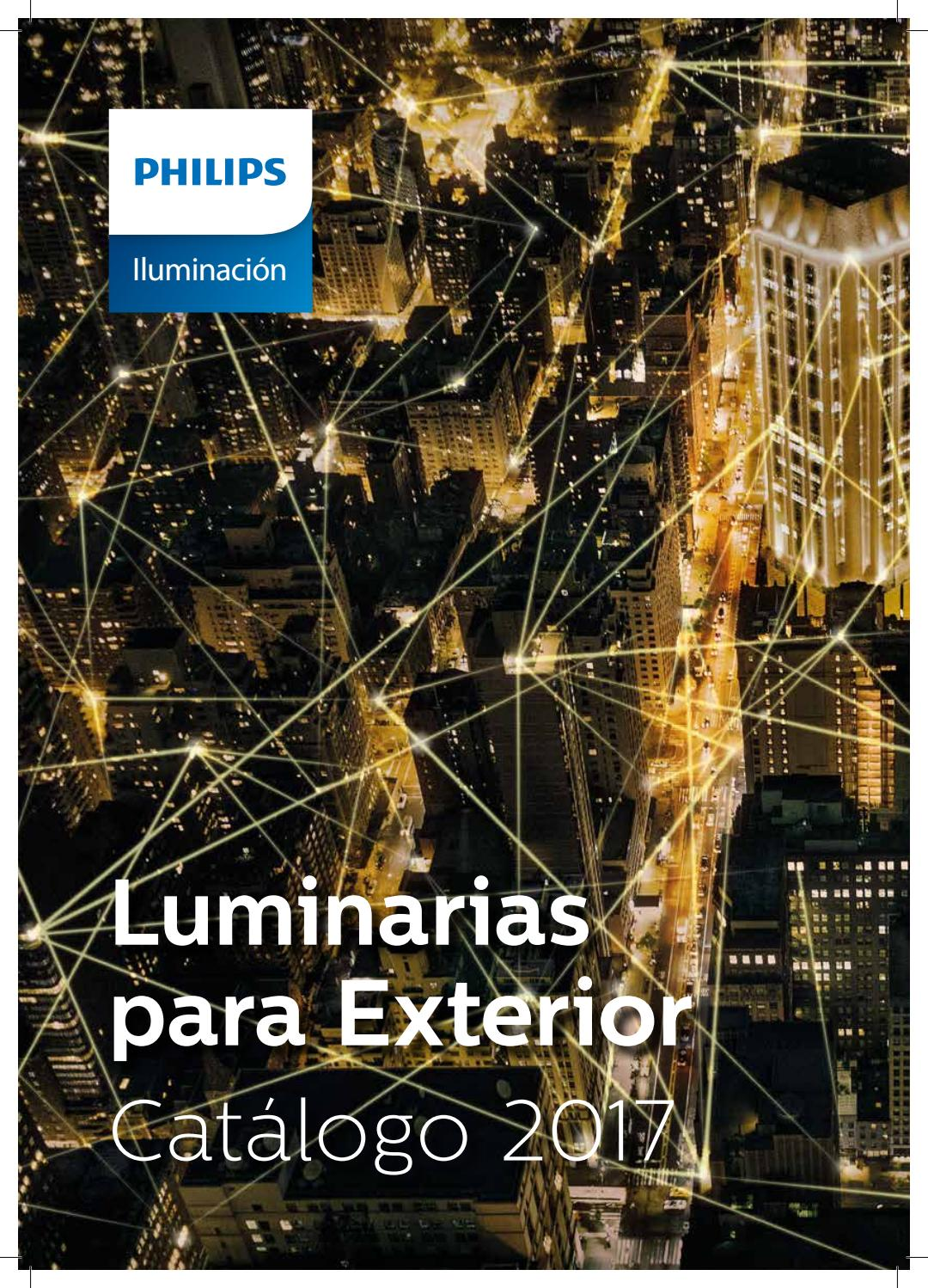 Catalogo Lamparas Philips Catálogo Luminarias Para Exterior By Philips Lighting Issuu