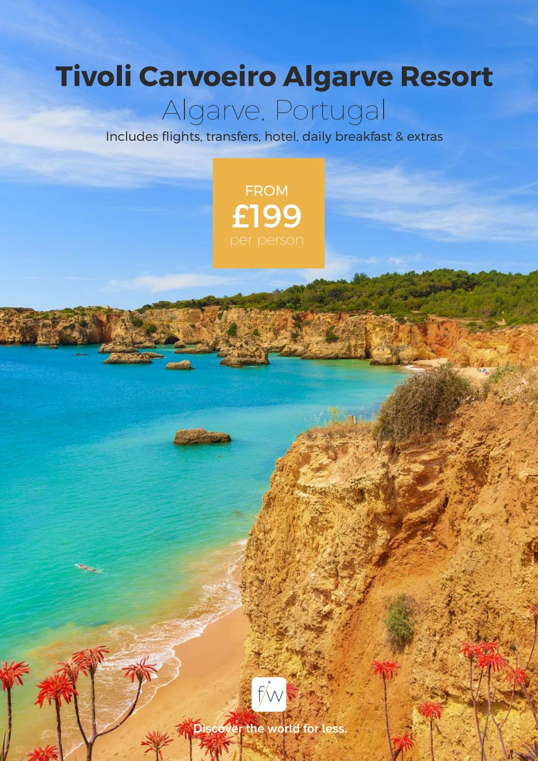 Hotel Tivoli Carvoeiro Algarve Booking Tivoli Carvoeiro Algarve Portugal By Fleetway Issuu