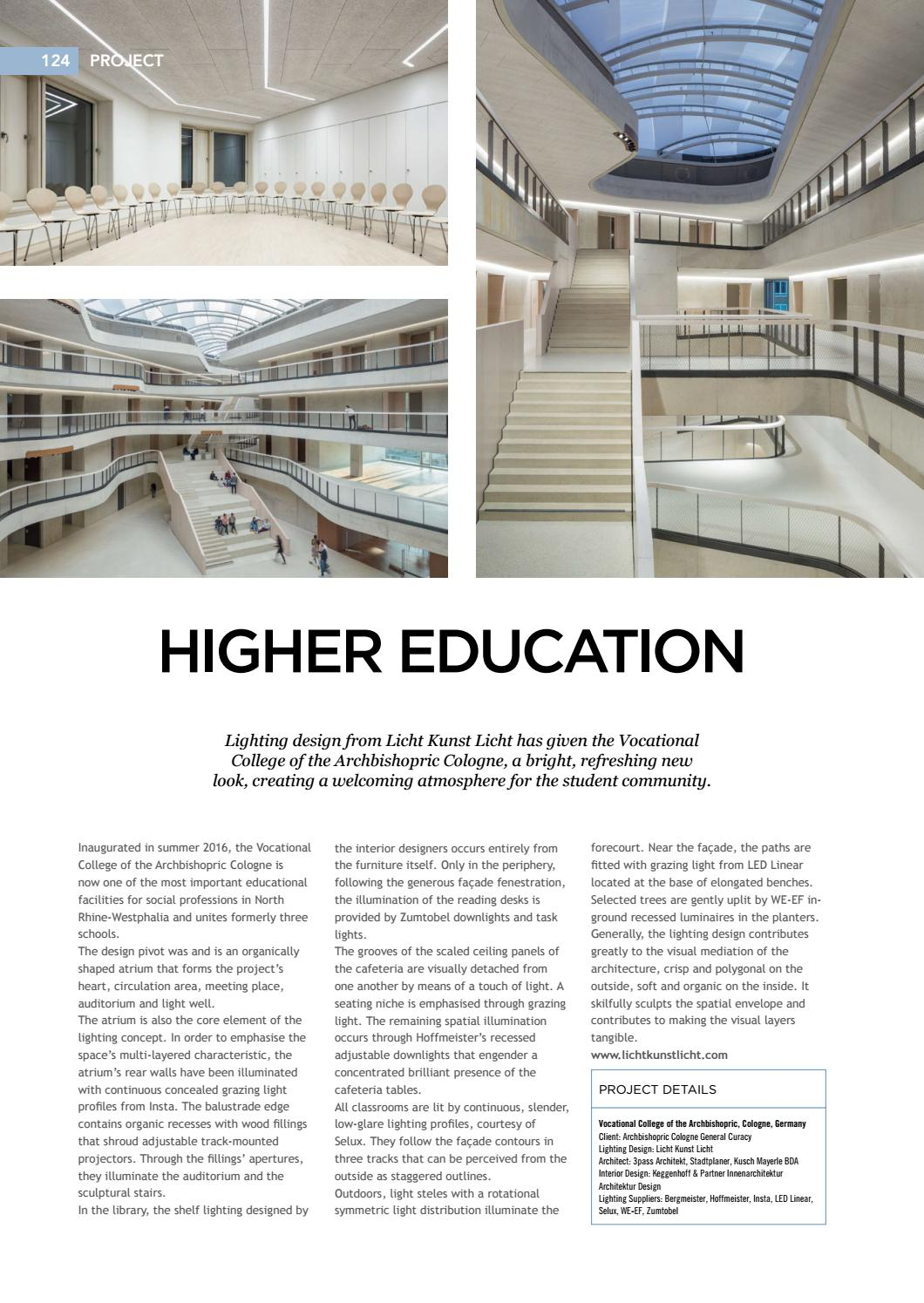 Innenarchitektur College Mondo Arc Aug Sep 2017 Issue 99