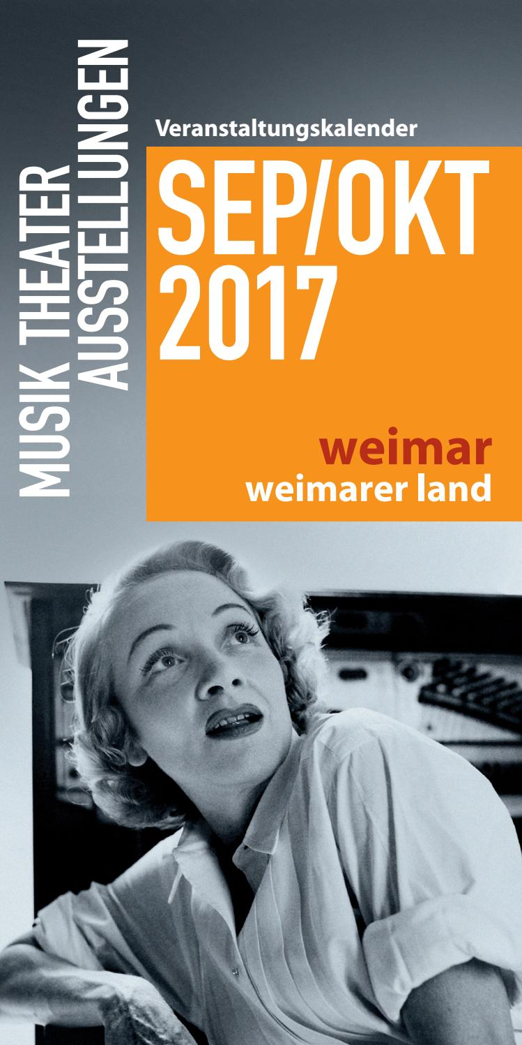Weimar Weimarer Land Sep Okt 2017 By Tips Issuu
