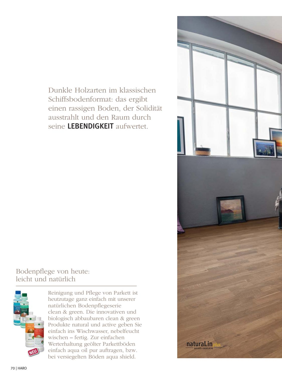 Parkettboden Wischen Haro Parkettboden By Kaiser Design Issuu