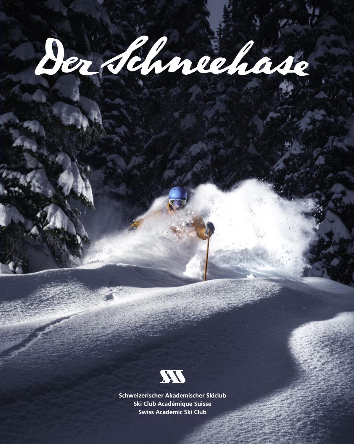 Programme Neuf Tours Nord Der Schneehase Nummer 39 By Swiss Academic Ski Club Issuu