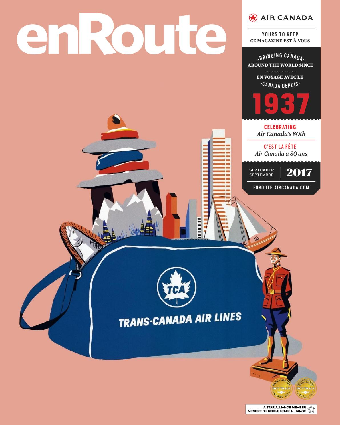 Chemin Cheminée Passion Prix Air Canada Enroute September Septembre 2017 By Spafax Issuu