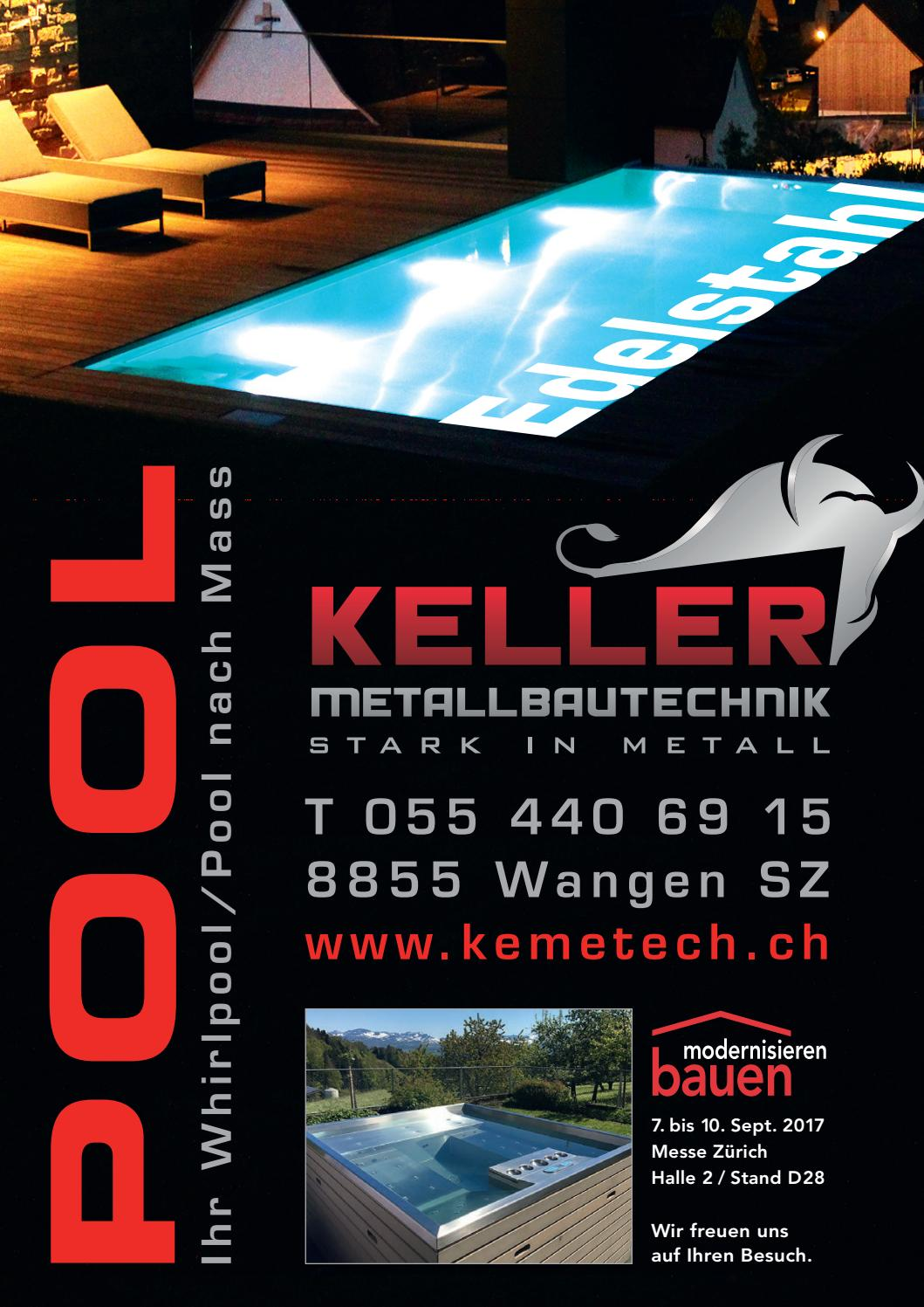Pool Bauen Zürich Baurundschau 03 2017 By Rundschaumedien Ag Issuu
