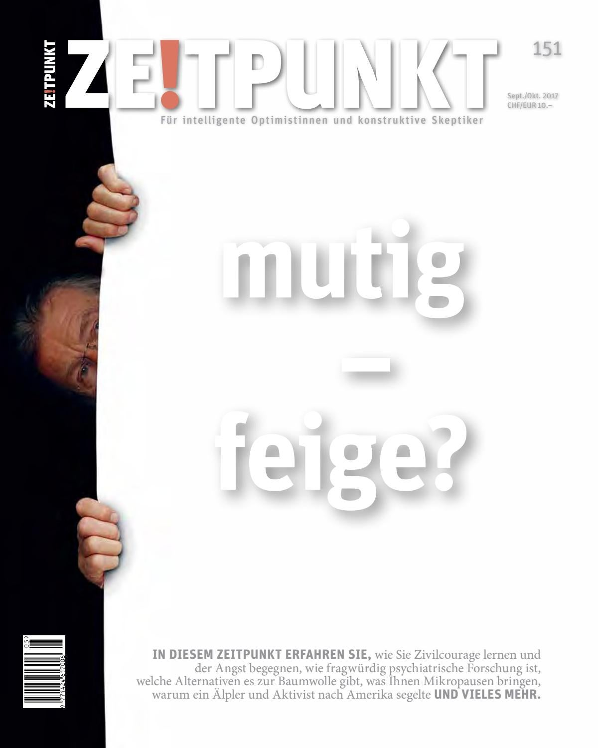 Zp 151 Mutig Feige By Christoph Pfluger Issuu