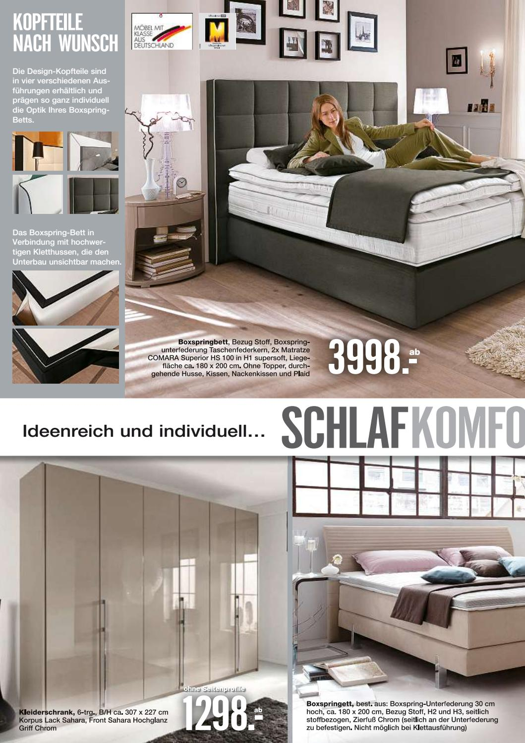 Boxspringbett Bezug Moebel Block Kw38 By Russmedia Digital Gmbh Issuu