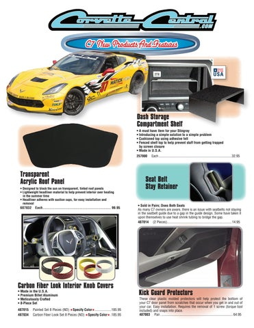 Corvette Central C7 (2014+) Corvette Parts Catalog by Corvette