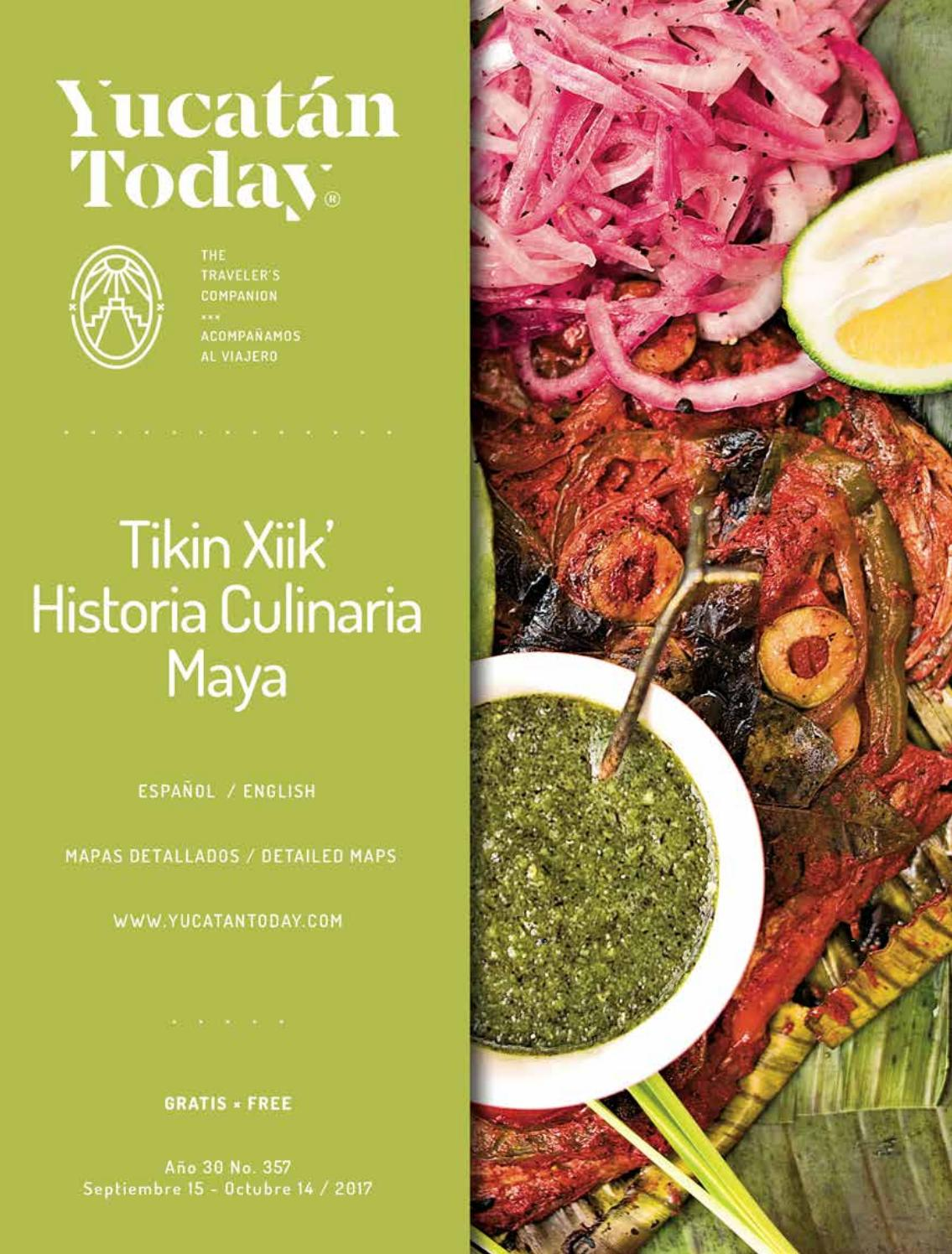 Comida Yucateca Libros Yucatan Today Sep 15 Oct 14 2017
