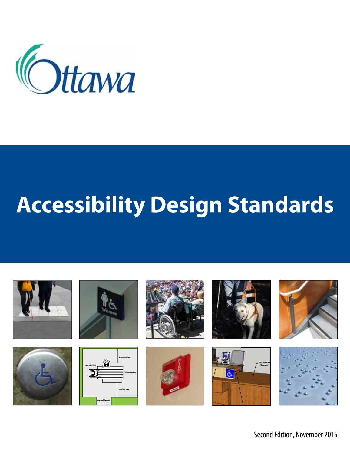 Fauteuil Roulant Manuel Weely Nov Accessibility Design Standards En By Viet My Pham Issuu
