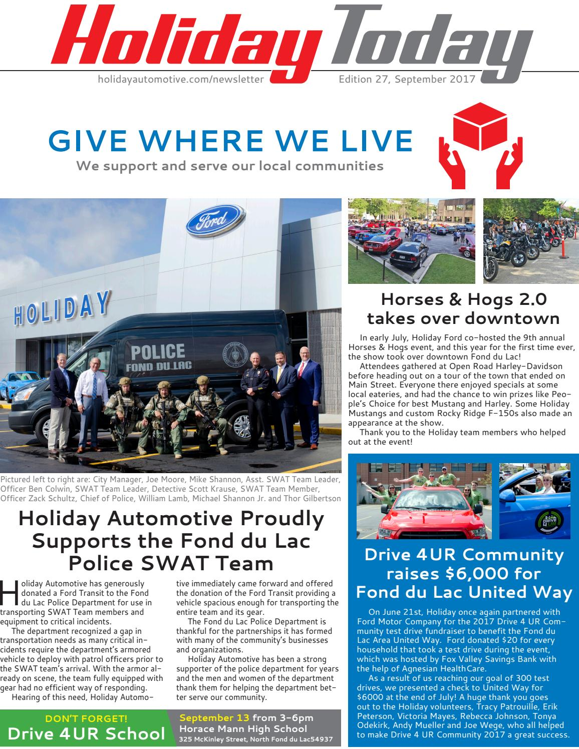 Cars Schrank Holiday Today September 2017 By Holiday Automotive Issuu