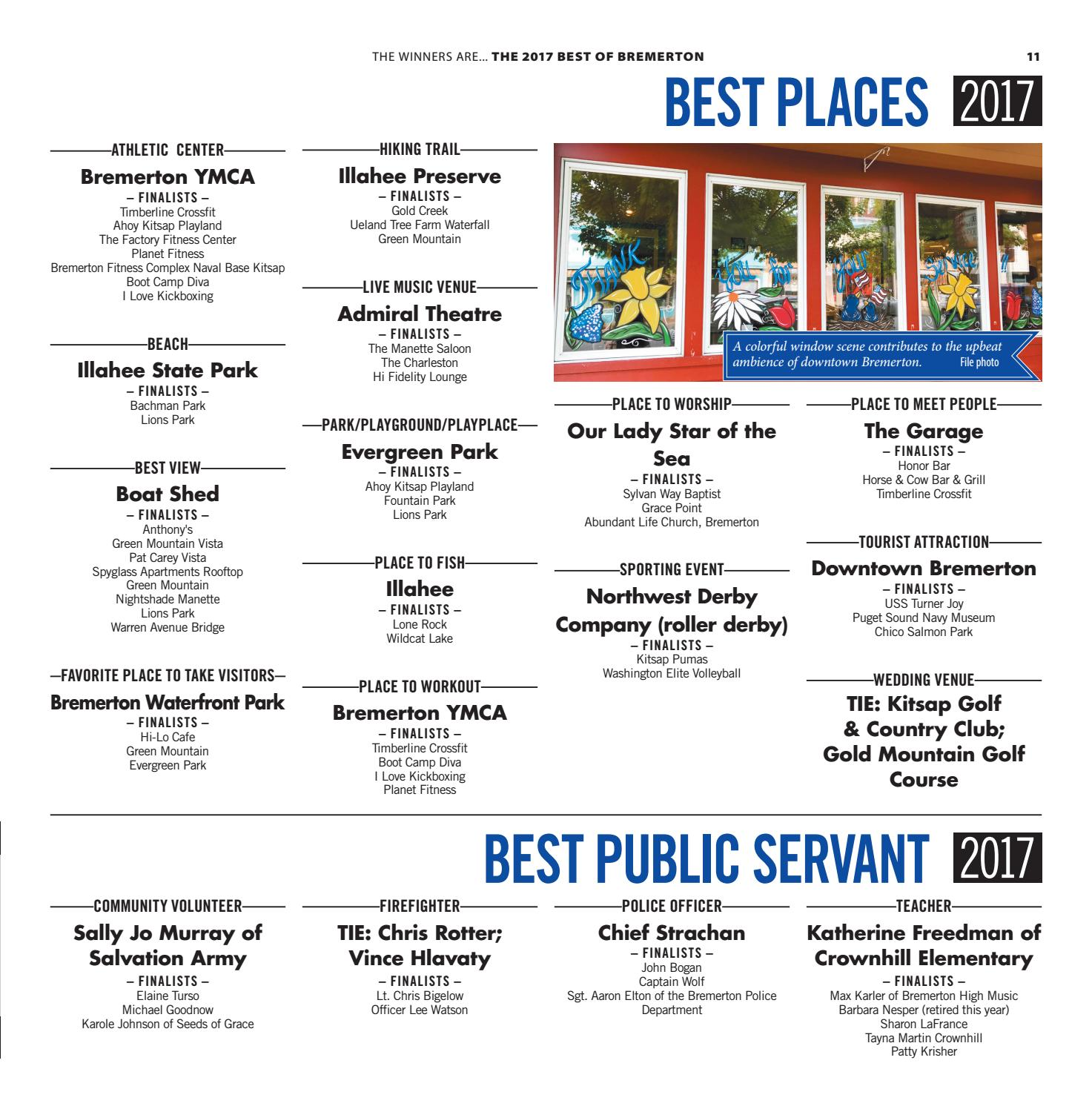 Best Of Best Of Bremerton 2017 By Sound Publishing Issuu