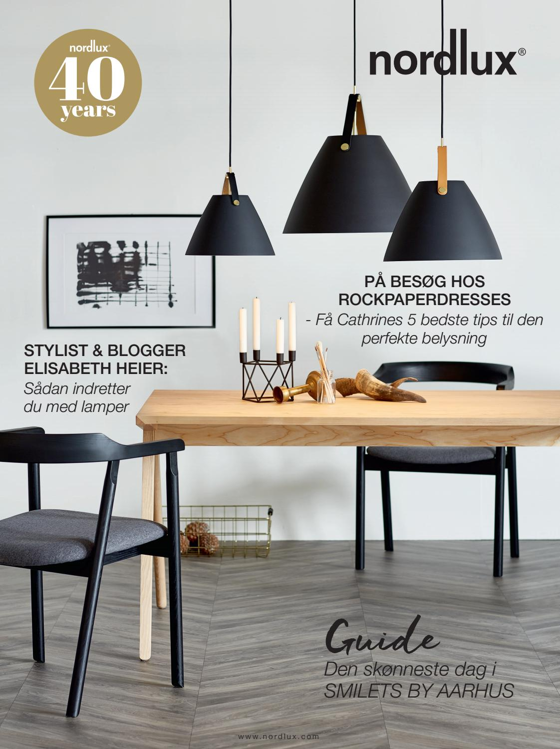 Nordlux Lampen Design For The People Magazine 2017 2018 Danish By Nordlux A S Issuu