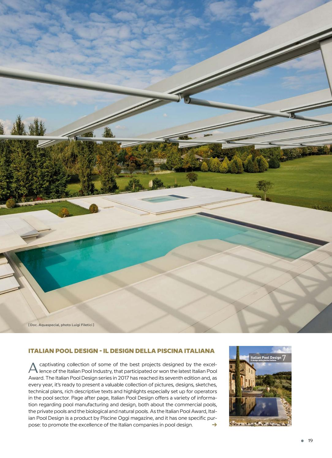 Piscina Design Italian Pool Technology 2017 2018 By Editrice Il Campo Issuu
