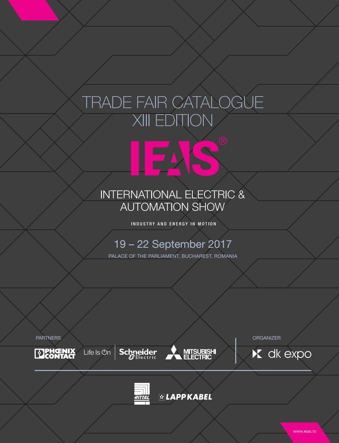 Cee Kabel Gamma Ieas Catalog 2017 By Ieas Issuu