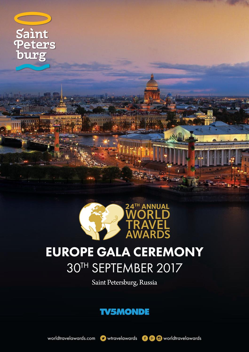 World Travel Awards Europe Gala Ceremony 2017 By World Travel Awards Issuu
