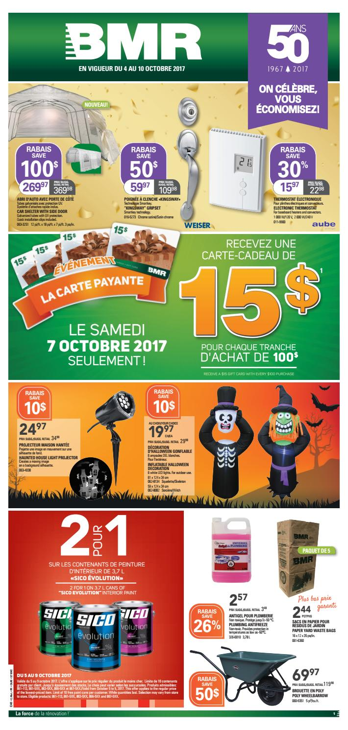 Lumiere Exterieur Bmr Publisac 2017 Flyer Bmr Wk41 C40 Que By Salewhale Issuu