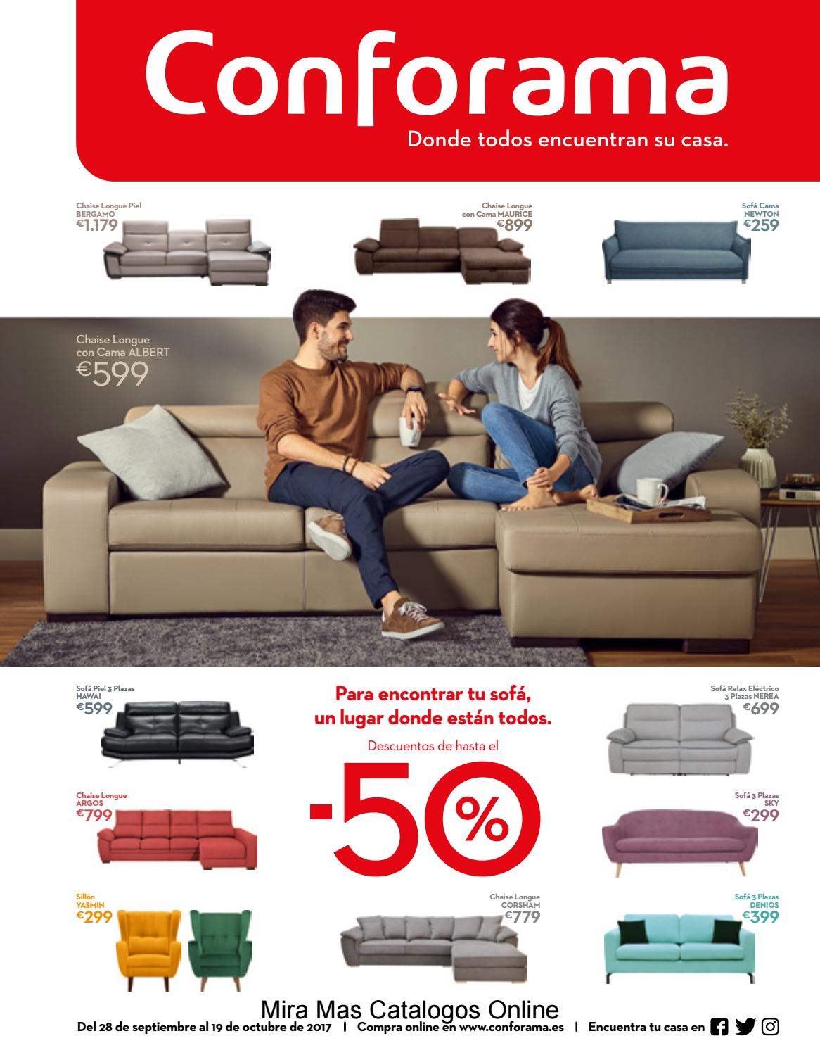 Sofa Conforama Sevilla Especial Sofas Hasta 50 By Catalogosd Es Issuu