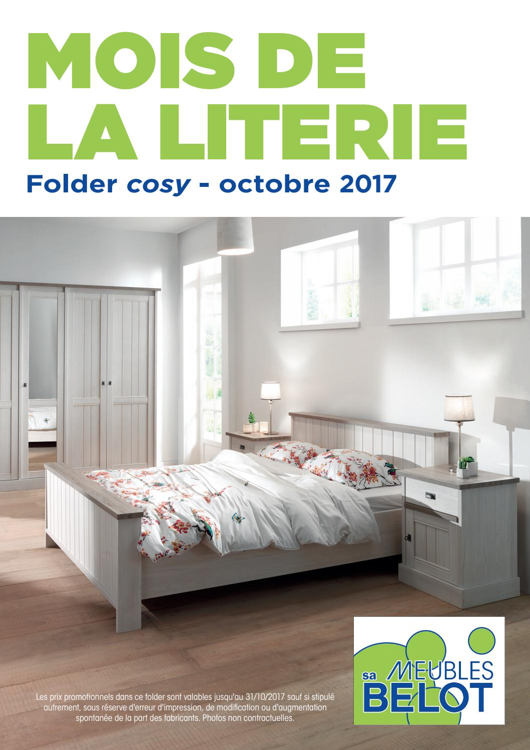 Meuble Belot Porte Manteau Belot Folders Cosy Octobre 2017 By Meubles Belot Sa Issuu