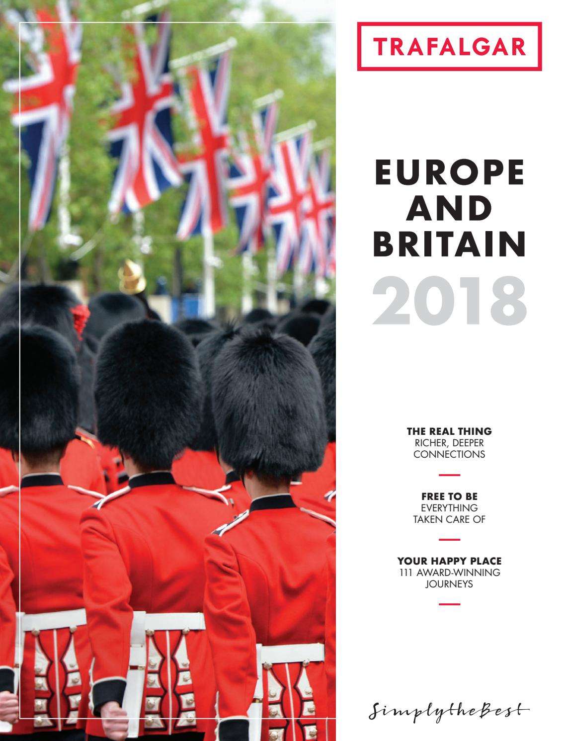 Caminetto D'oro Ausonia Europe And Britain 2018 Fe By Trafalgar Issuu