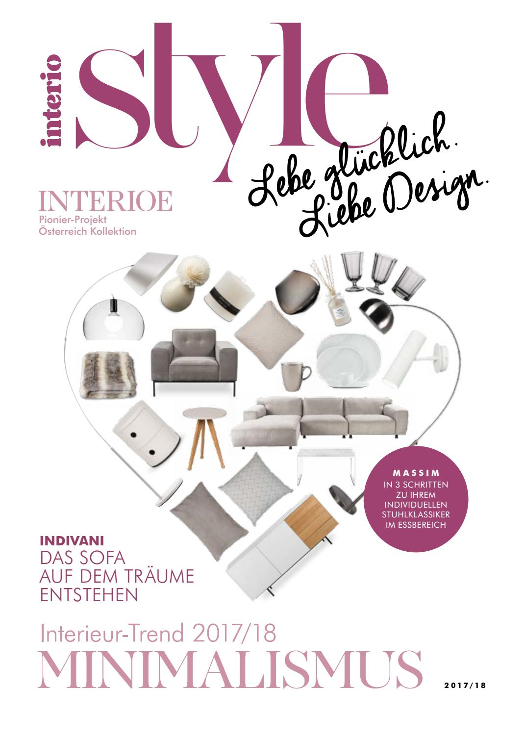 Sofa Interio Indivani Interio Herbstkatalog By Interio Issuu