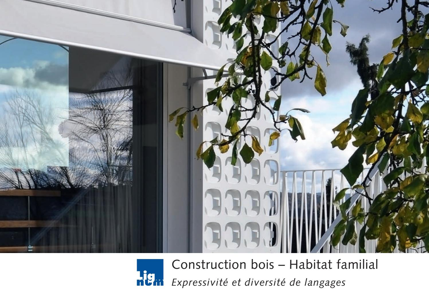 Construction Bois Habitat Construction Bois Habitat Familial By Cedotec Issuu