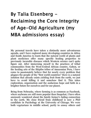 By talia eisenberg reclaiming the core integrity of age old - personal integrity essay