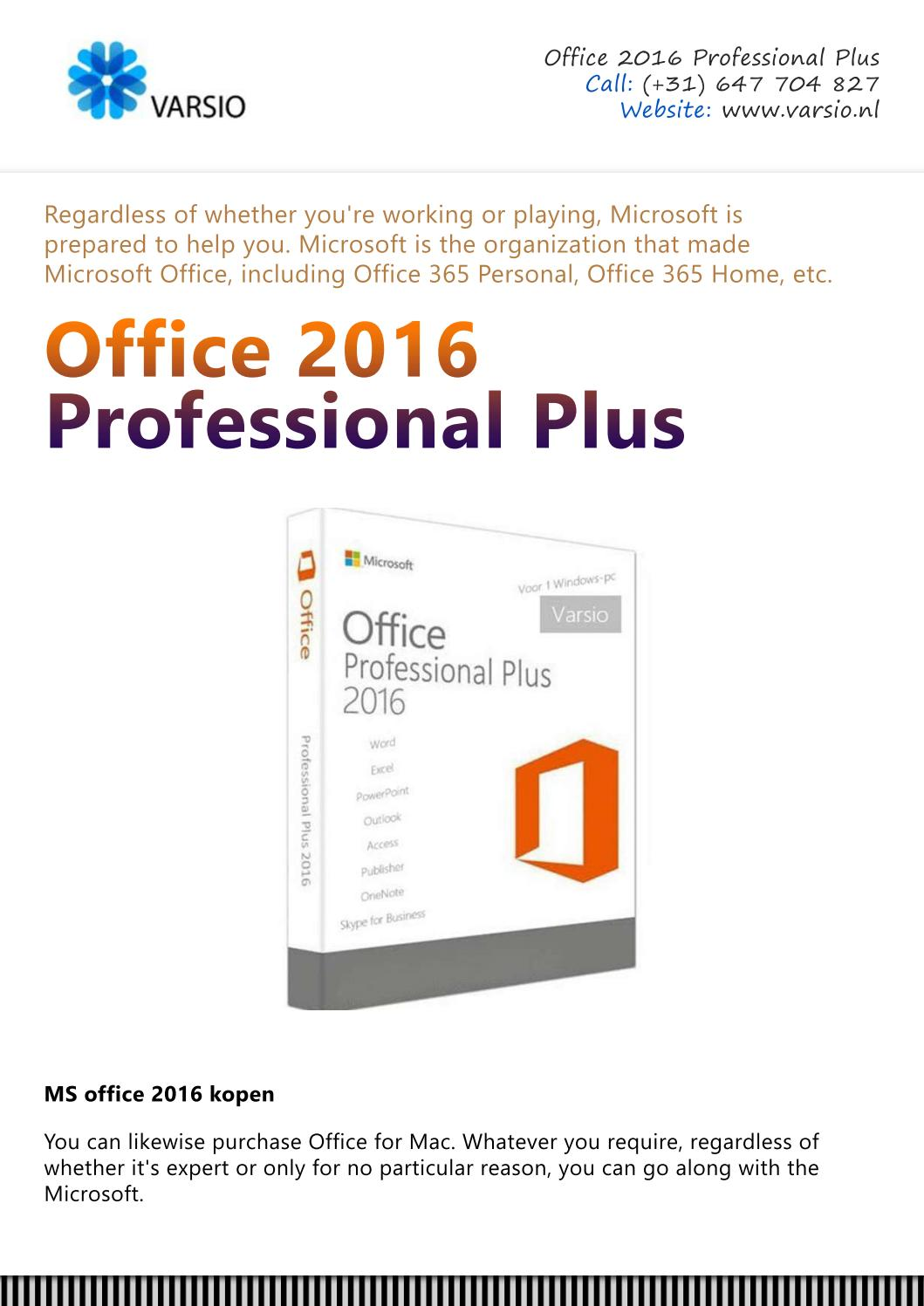 Office 2016 Kopen Ms Office 2016 Kopen By Benryyy Issuu