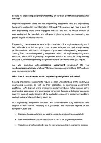 Personal Statement Phd Civil Engineering - Good personal statement