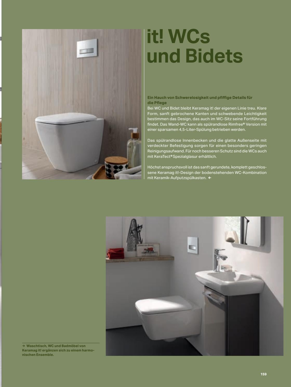Wand Wc Kombination Geberit Keramag Bad Journal By Wohnnet Issuu