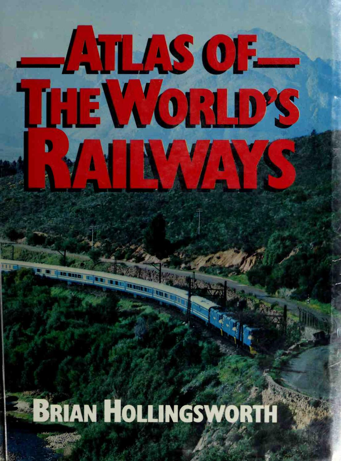 Glasregal Zigzag+atlas Atlas Of The World S Railways