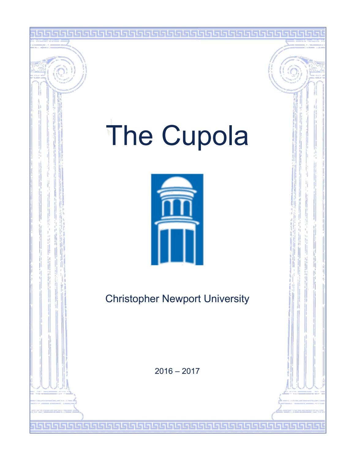 Cash Pool Führer The Cupola 2016 17 By Christopher Newport University Issuu