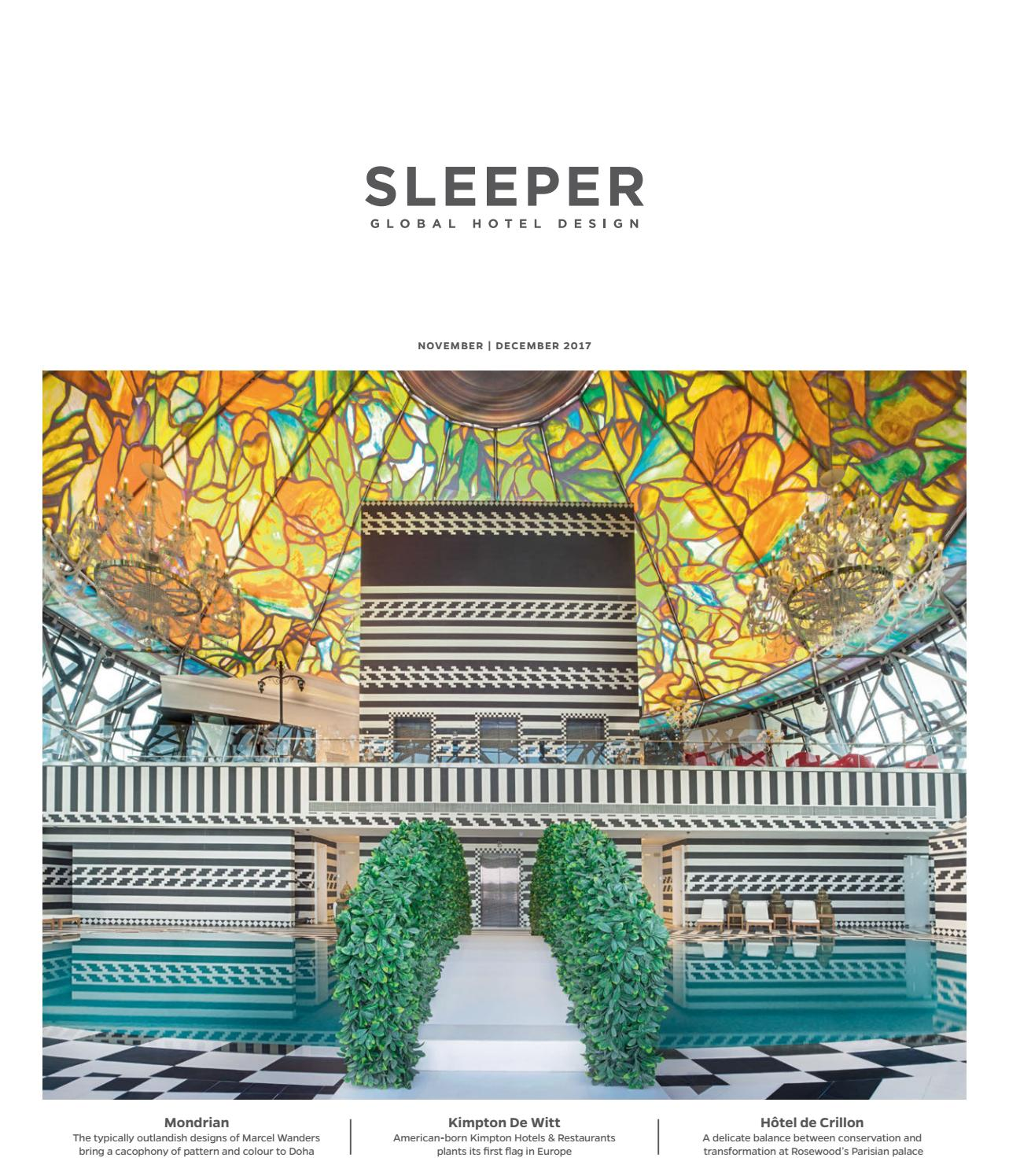 Sleeper November December 2017 Issue 75 By Mondiale Media Issuu