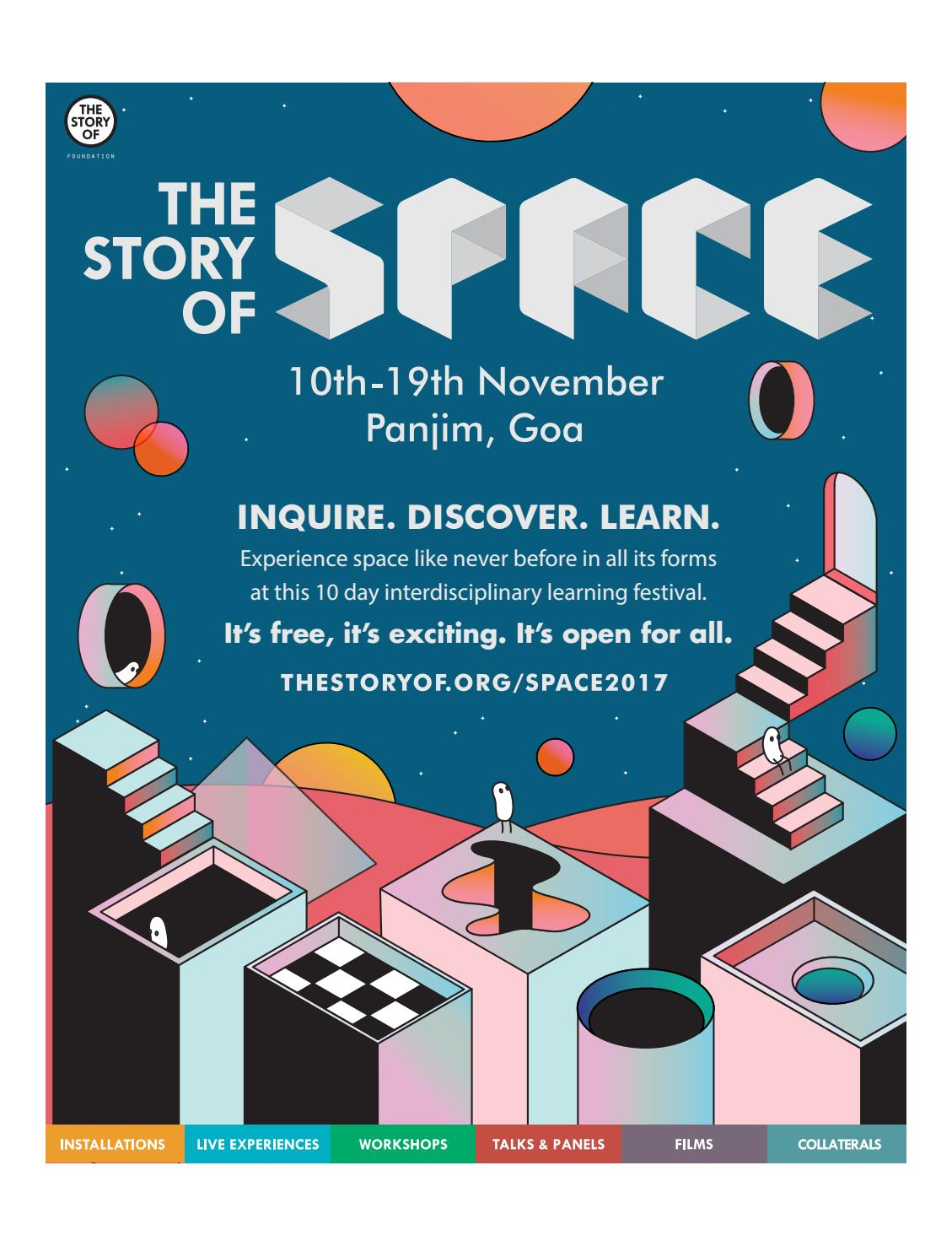 Arte Digital World Panjim Goa The Story Of Space 2017 By The Story Of Space Issuu