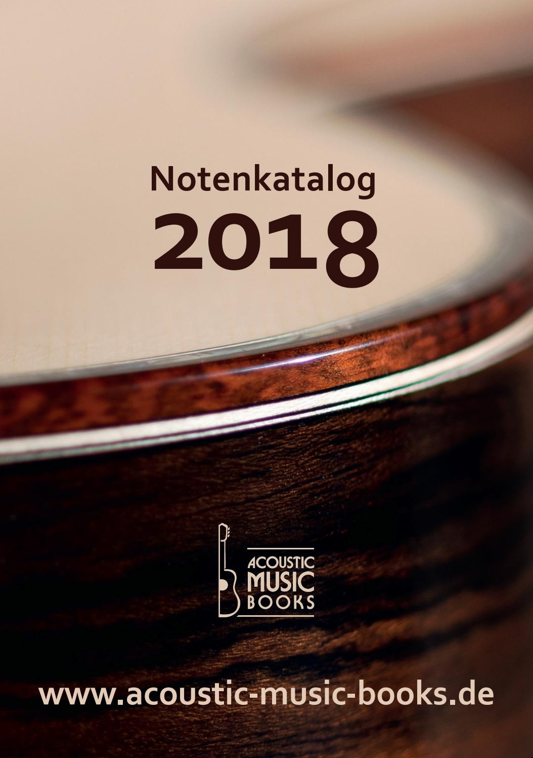 Early Dew 3031 Notenkatalog Acoustic Music Books 2018 By Timezone Records Issuu