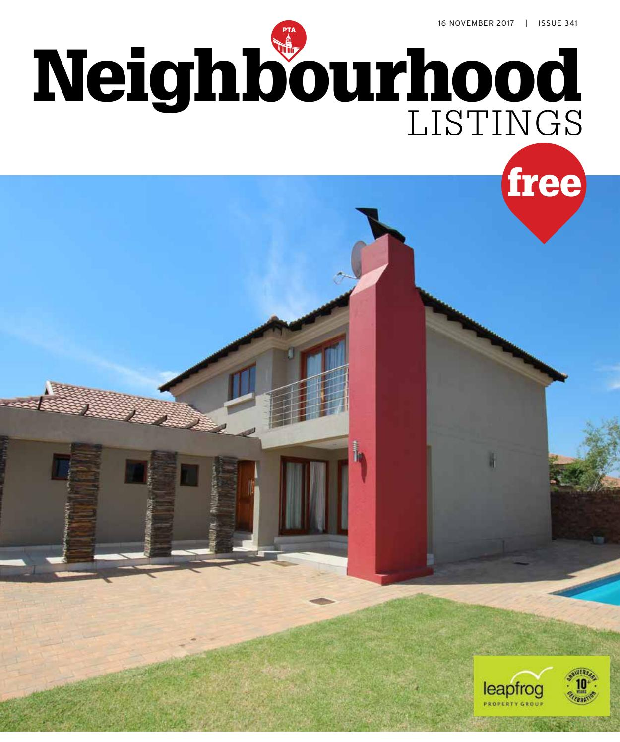 Trends Eetkamer Neighbourhood Pta Listings 16 November 2017