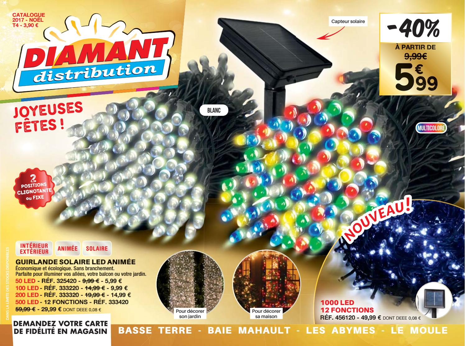 Guirlande Lumineuse Diamant Catalogue Diamant Distribution